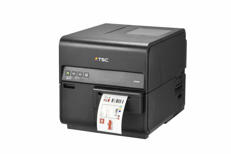 TSC CPX4彩色标签条码打印机