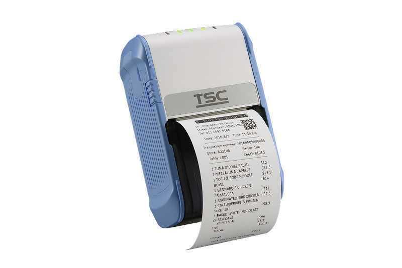 TSC Alpha-2R便携式打印机