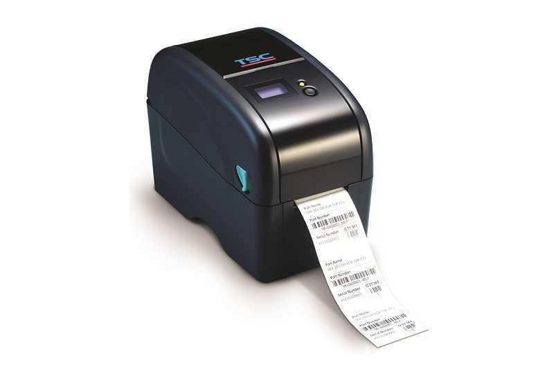 tsc TTP-225桌面条形码打印机