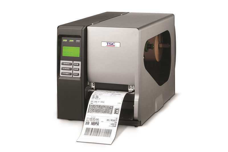 TSC TTP-2410MU工业条码打印机