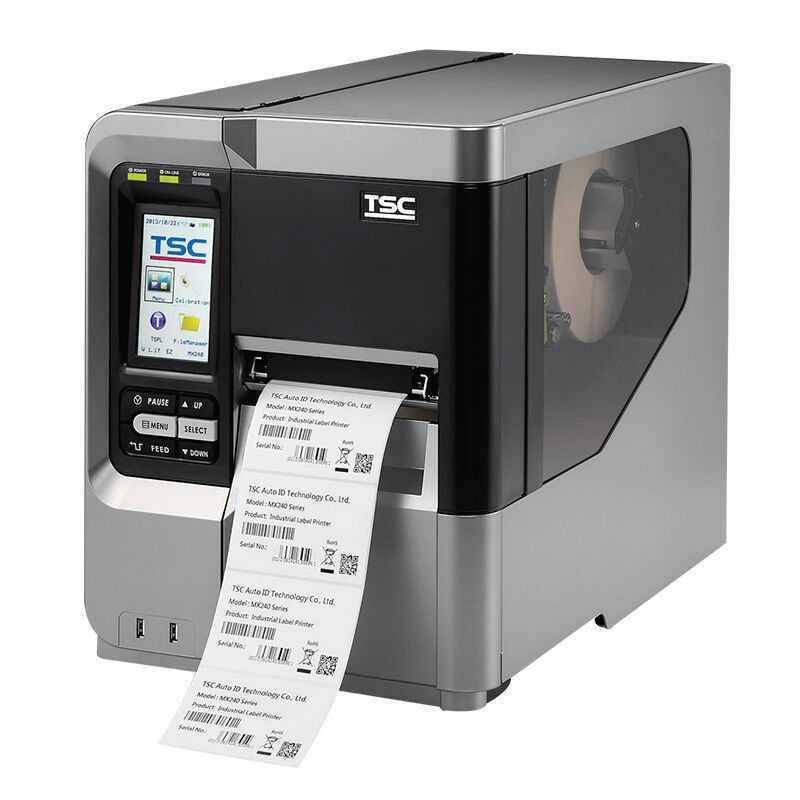 TSC MX240P工业条码打印机